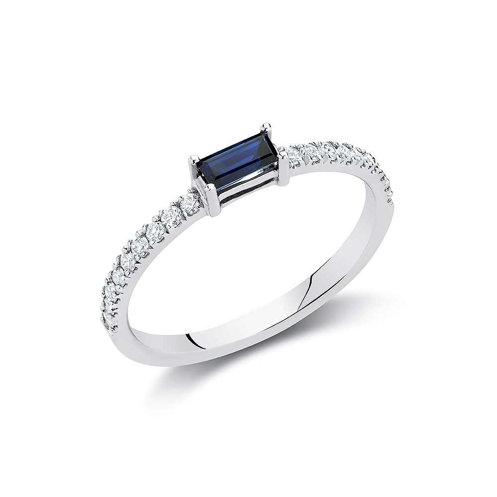 dca4c03deb546 Baguette Stacking Ring